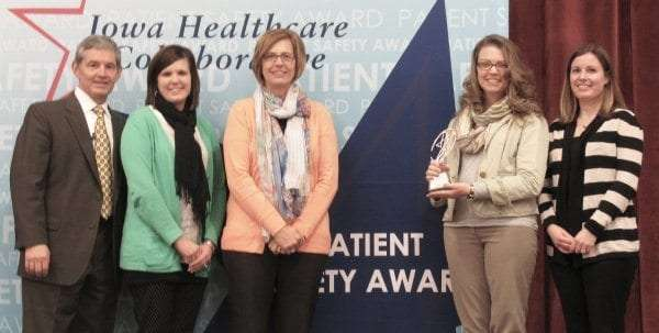 Patient safety award 2016