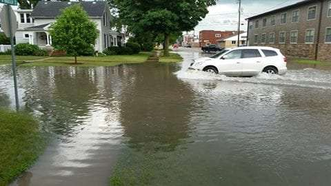 Manchester Flooding 2