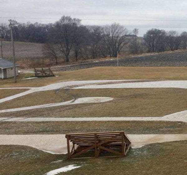 Iconic 'Field of Dreams' baseball field vandalized by vehicle