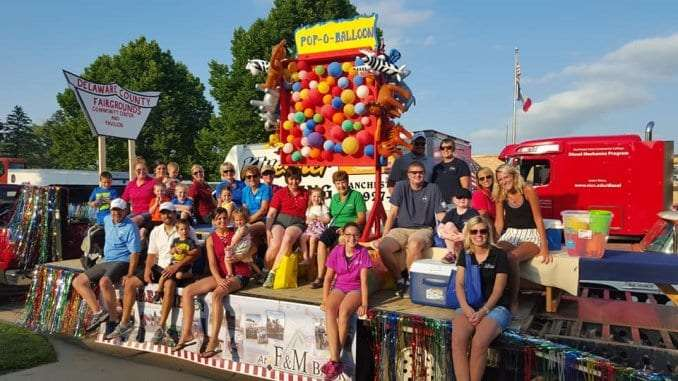 Plans Announced for Delaware County Fair Parade – Mix 94 7 KMCH