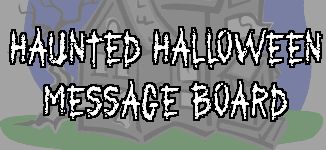 haunted halloween message board