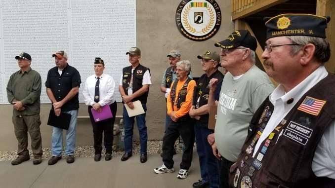Sept. 21, 2019 wall dedication